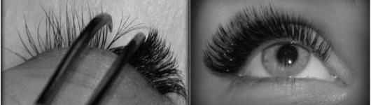 Eyelashes extension in Volume method