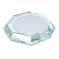 "Glass ""MAXI"" Faceted"